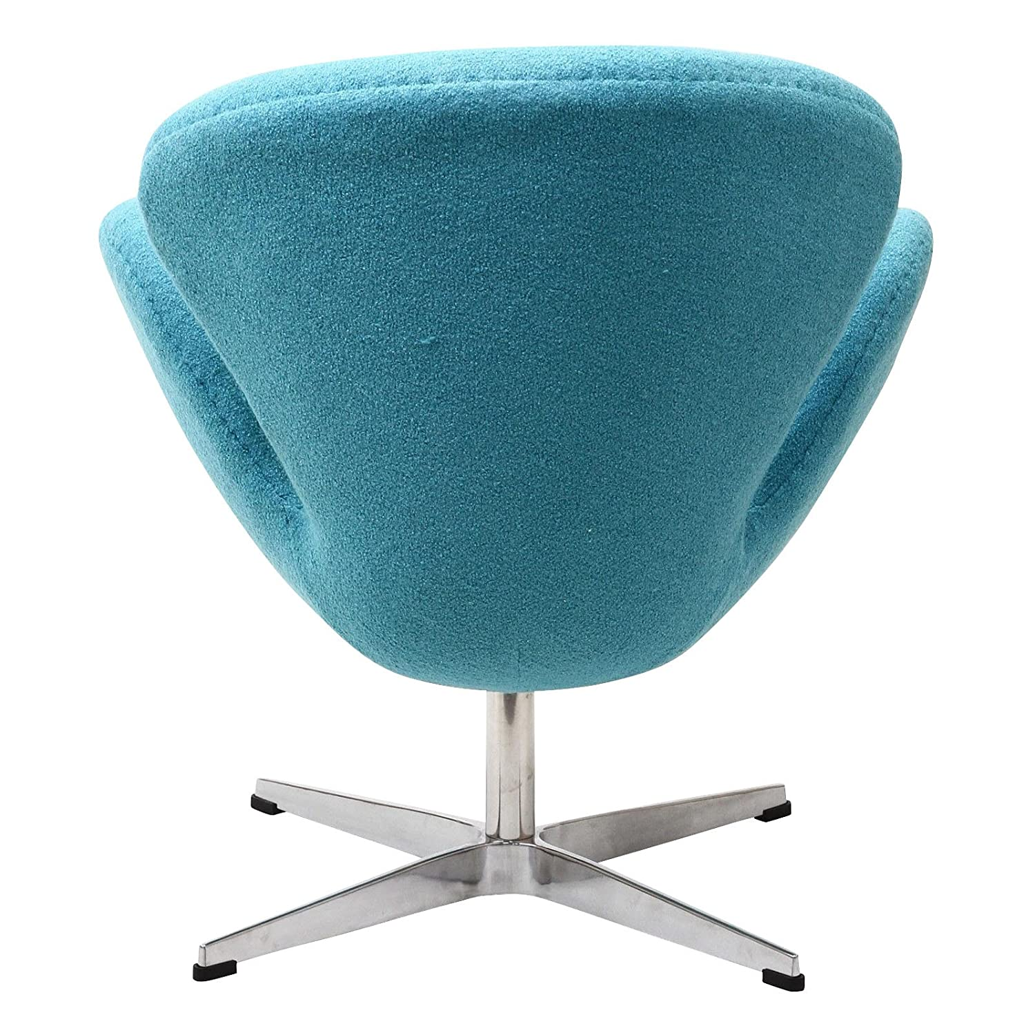 Amazon Modway Wing Lounge Chair in Baby Blue Kitchen & Dining