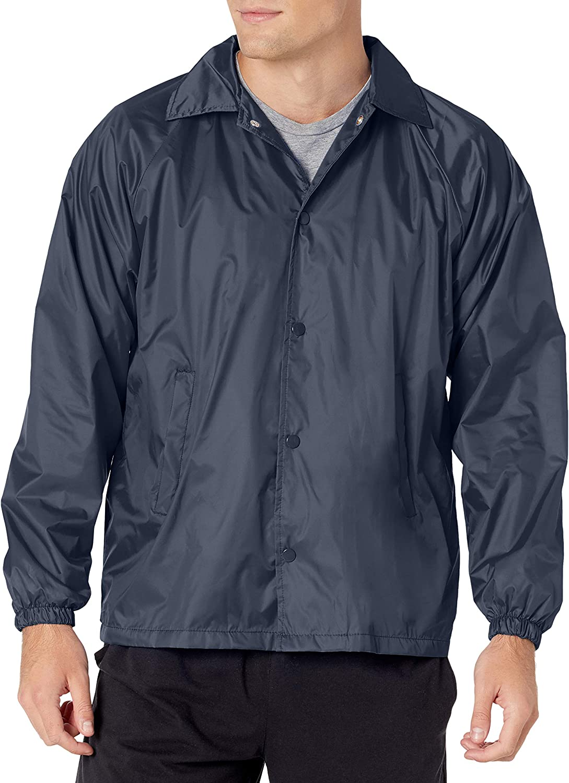 Augusta Sportswear Nylon Coach's Jacket/Lined: Augusta: Clothing