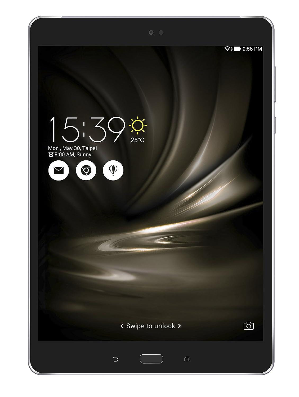 """Asus ZenPad 3S 10 LTE Tablet PC, Display da 9.7"""", Processore Qualcomm MSM8956, 2.1 GHz, SDD da 128 GB, 4 GB di RAM, Nero"""