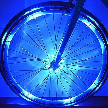 Luces LED para ruedas de bicicleta West Biking, luces para radios ...