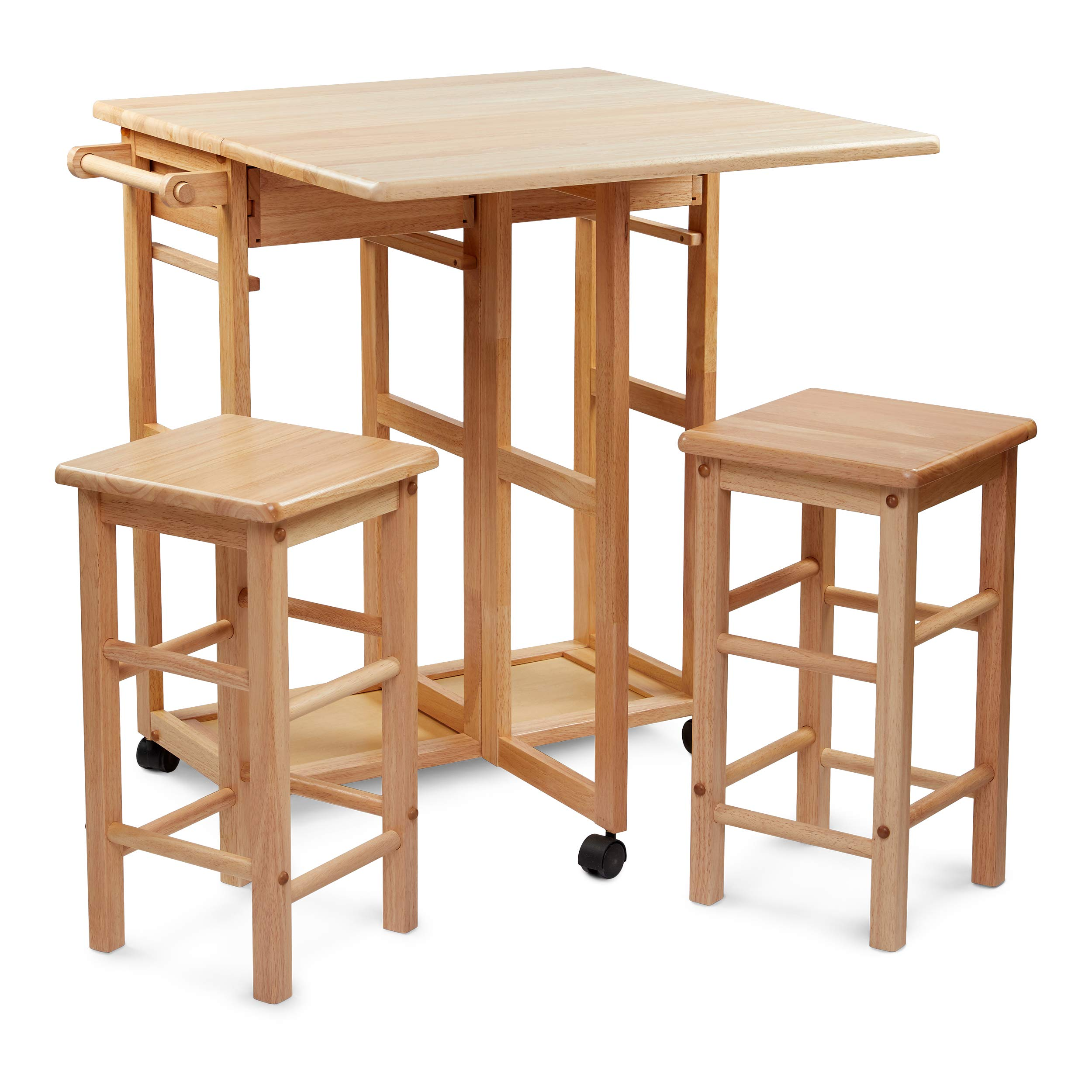 Civet Home TB07-0203-001-SG-A04 Table Set, Natural by Civet Home