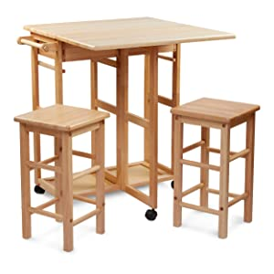 Civet Home TB07-0203-001-SG-A04 Table Set, Natural