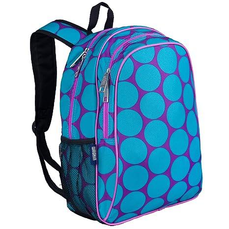 Amazon.com: Big Dots Aqua Sidekick Backpack: