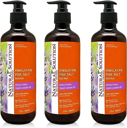 Natural Solution gel de baño para el cuerpo, aceite de lavanda ...