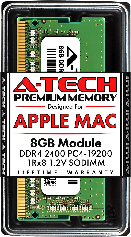 A-Tech 8GB RAM for Apple 2017 iMac 27 inch Retina 5K, 21.5 inch Retina 4K | DDR4 2400MHz PC4-19200 SO-DIMM 260-Pin CL17 1.2V Non-ECC Unbuffered Memory Upgrade Module