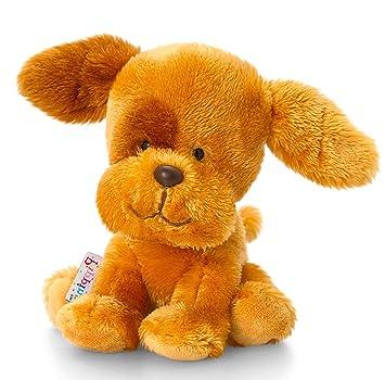 1c0f3b0f3c40 Lashuma plush brown puppy, soft toy puppy pippins approximately 14 cm.:  Amazon.co.uk: Toys & Games