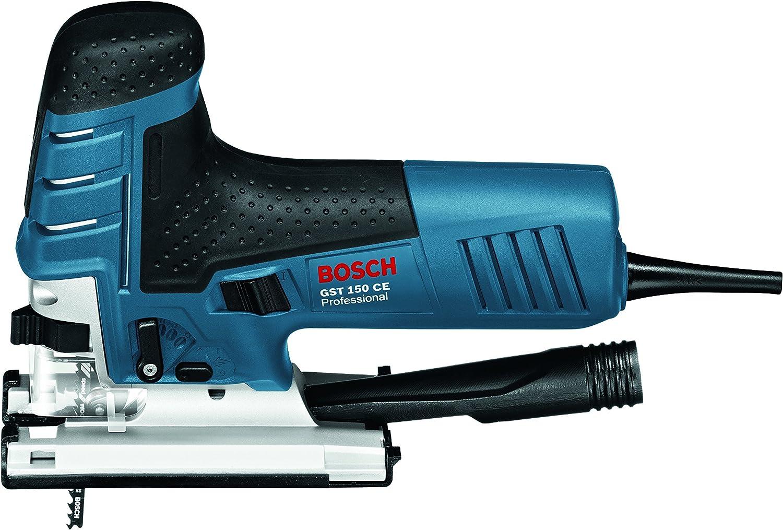 Robustline Madera y Metal 800 W, 240 V, L-BOXX Sierra de calar GST 160 CE Bosch Professional + Bosch