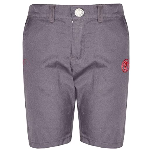 3d7c0e156382 Amazon.com  Boys Shorts Kids Grey Chino Shorts Summer Knee Length Half Pant  New Age 2-13 Yr  Clothing