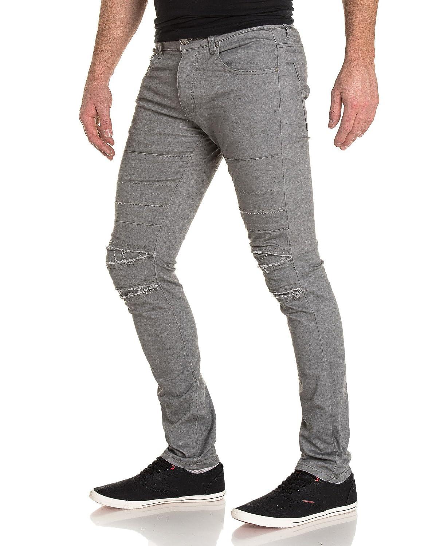 BLZ jeans - torn gray pants
