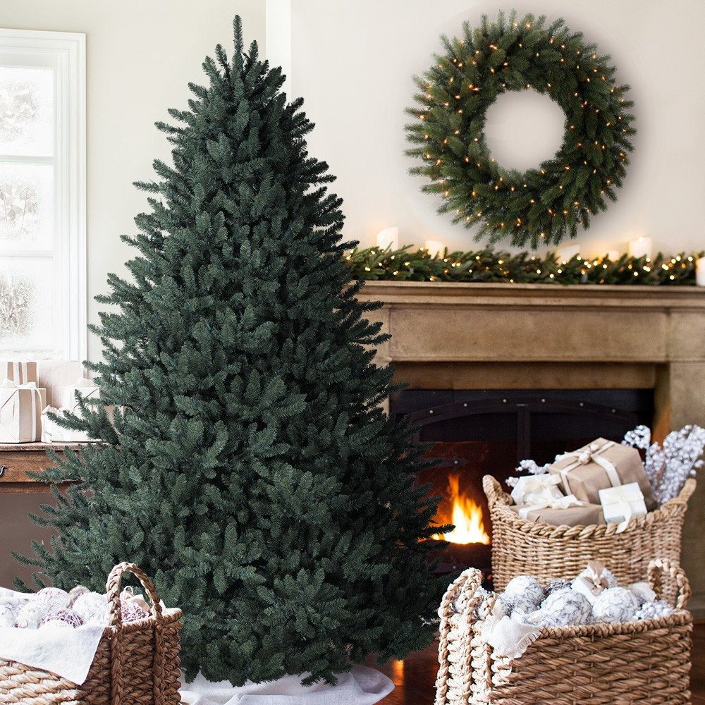 Pull up christmas tree reviews - Amazon Com 6 5 Balsam Hill Blue Spruce Artificial Christmas Tree Unlit Home Kitchen