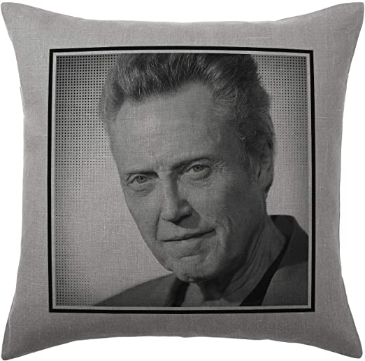 Cover and filling pad 40x40cm Stocking Fillers Alex OLoughlin Cushion Pillow Available with or without filling pad 100/% Cotton Grey