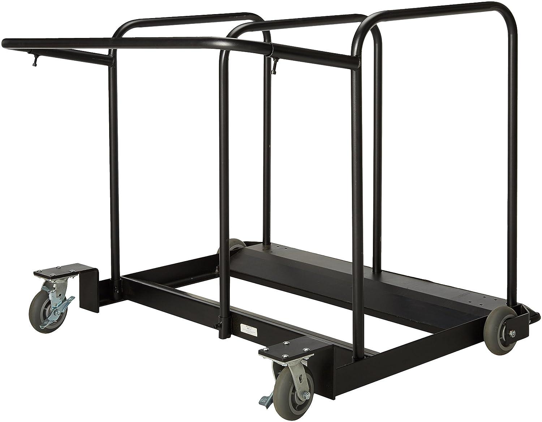 Pleasing Mitylite Edge Cart 42 72 Round Table Sizes Black Interior Design Ideas Gentotryabchikinfo