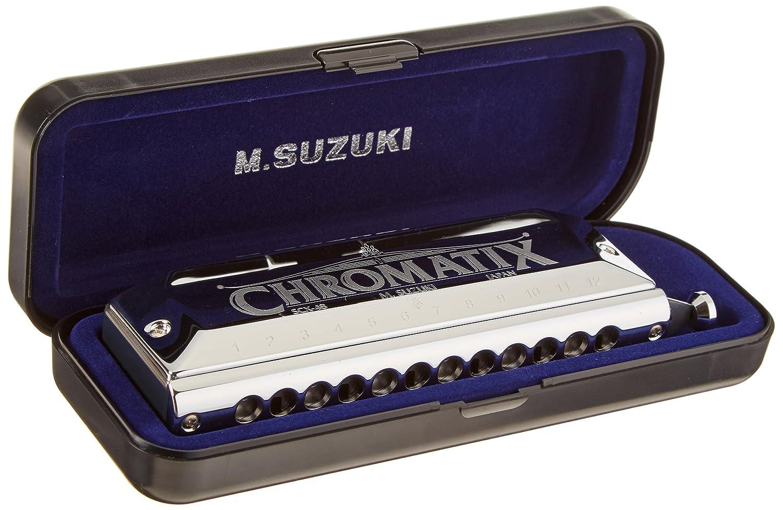Suzuki Chromatix Series Harmonica C 12 Hole - SU-SCX48C Suzuki-SCX48-C