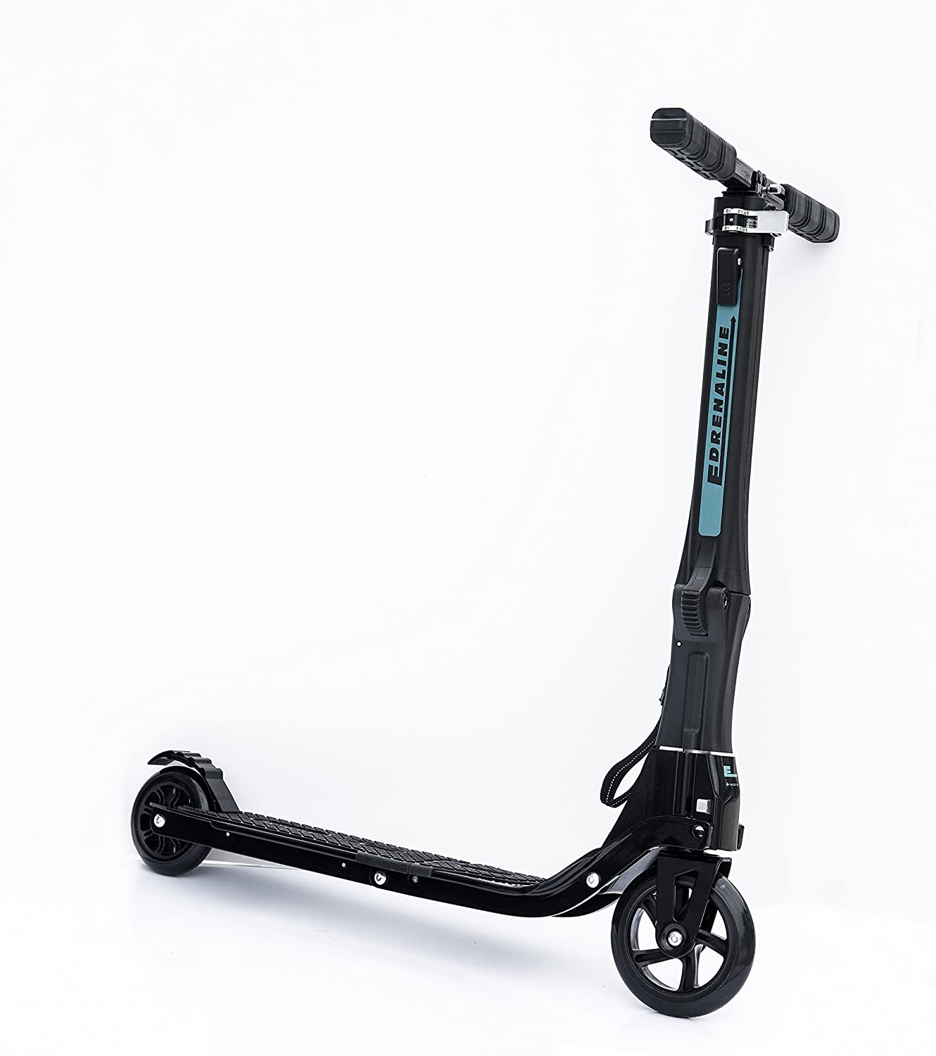 Edrenaline Foldable Kick Scooter with Black Carry Bag