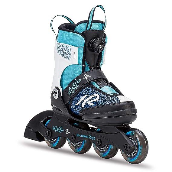 K2 Kinder Inline Skates Marlee Boa - Schwarz-Blau-Hellblau - 30C0202.1.1