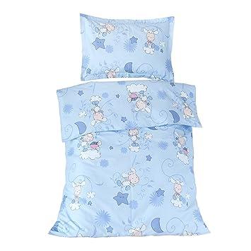 Les agneaux Bleu - SoulBedroom Linge de lit