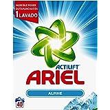 Ariel Frescor de Los Alpes Detergente en Polvo - 40 Lavados