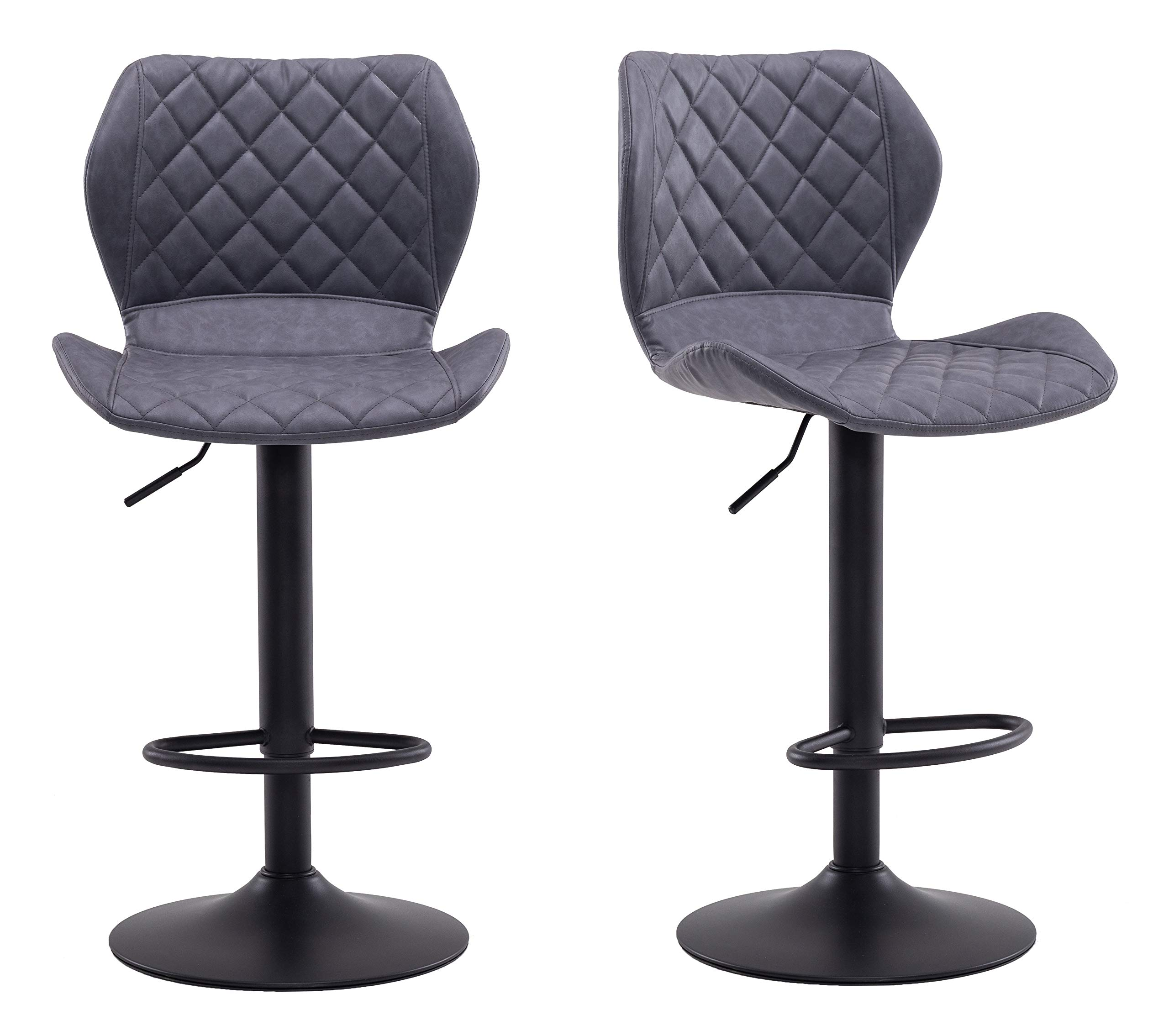 Requena Vintage Bar Stools Set Leathere Buy Online In Colombia At Desertcart