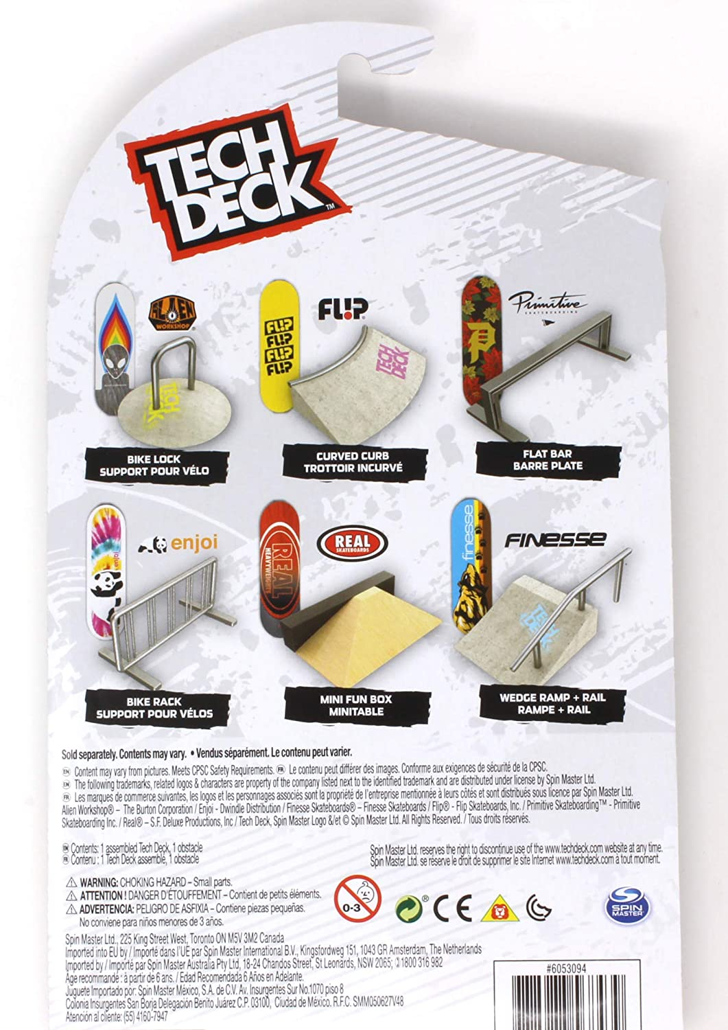 Mini Fingerboards TD Street Hits Flat Bar and Primitive Skateboards Dirty P Holiday Complete Deck