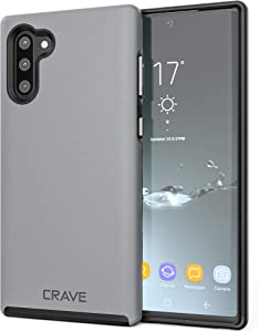 Crave Note 10 Case, Crave Dual Guard Protection Series Case for Samsung Galaxy Note 10 - Slate