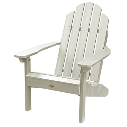 Amazon Com Highwood Classic Westport Adirondack Chair Whitewash