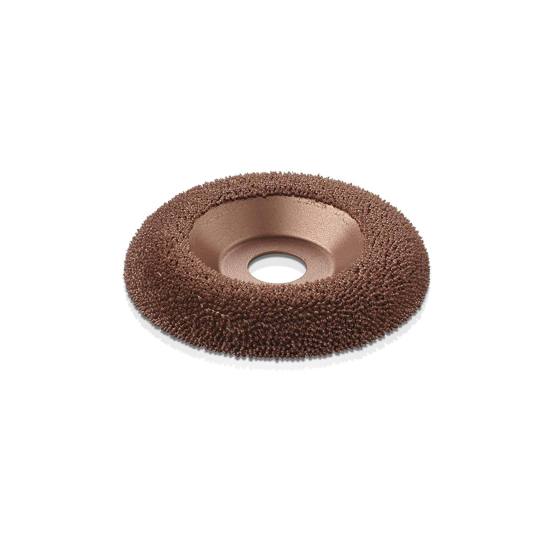 114.3mm 22.2mm Kutzall Original Shaping Dish DW412O390-CAN Bore Coarse Tungsten Carbide Coating: 4-1//2 Diameter x 7//8