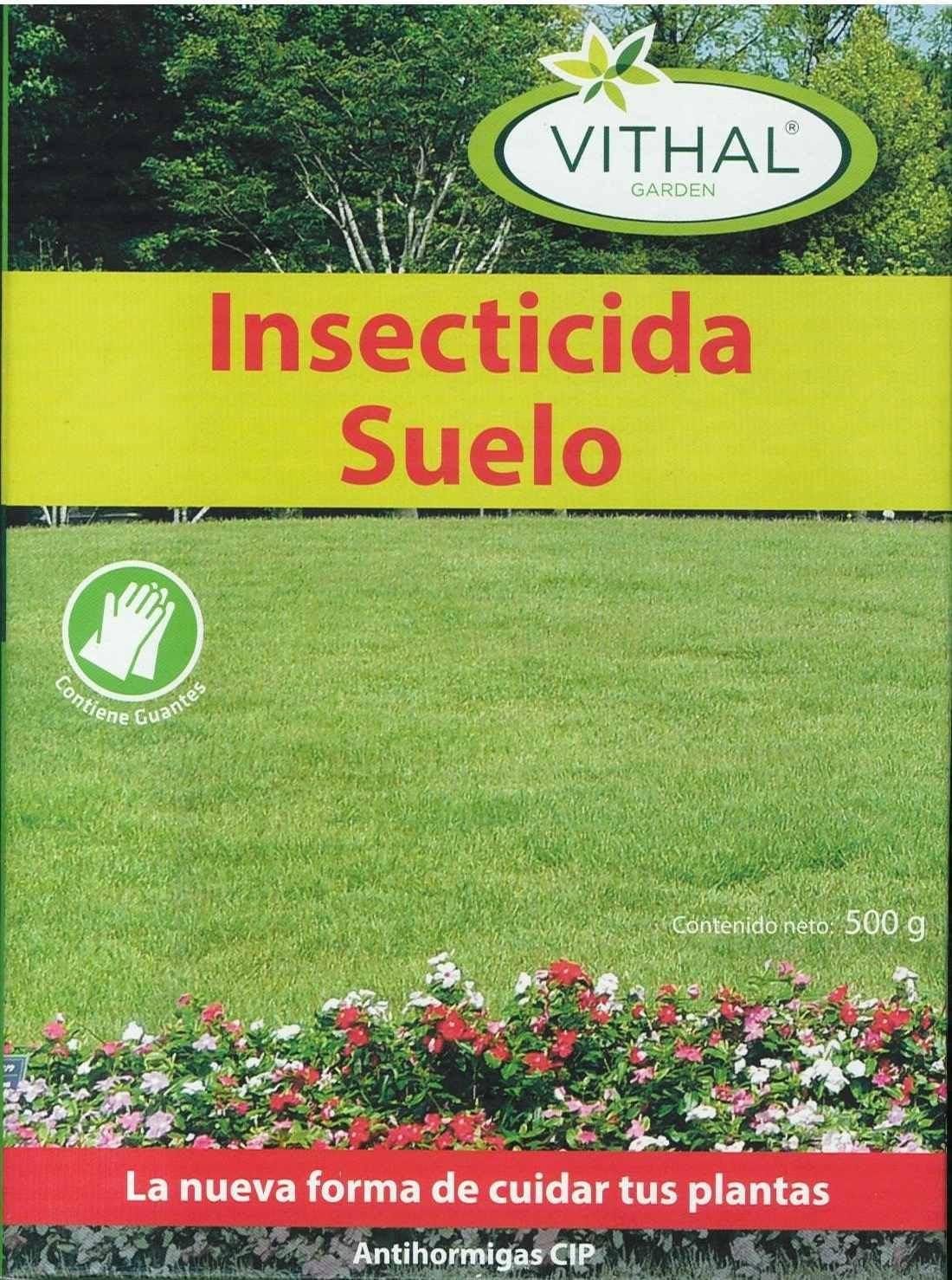 INSECTICIDA Suelos 500 GR, JED.