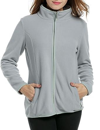 Goodfans Ladies Coats Winter Warm Jacket Women Lightweight Outwear Fleece  at Amazon Women s Coats Shop d13b967964ea