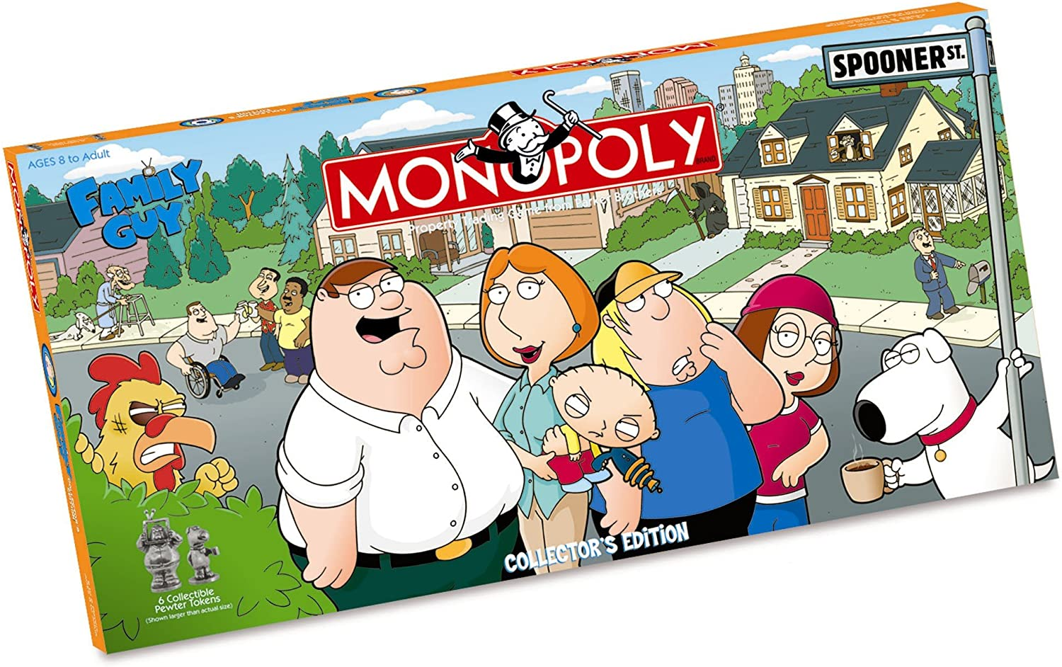 USAopoly Family Guy Collectors Edition Monopoly by: Amazon.es: Juguetes y juegos