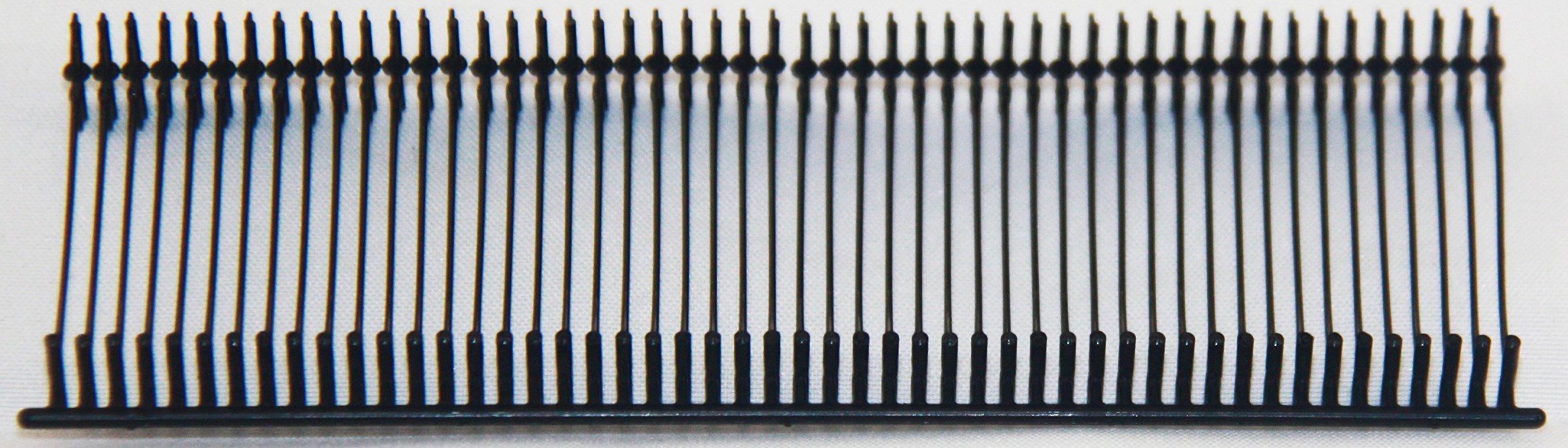 Amram Standard Tagging Attachments 3'', 50/Clip, 5,000/box, Black by AMRAM (Image #1)