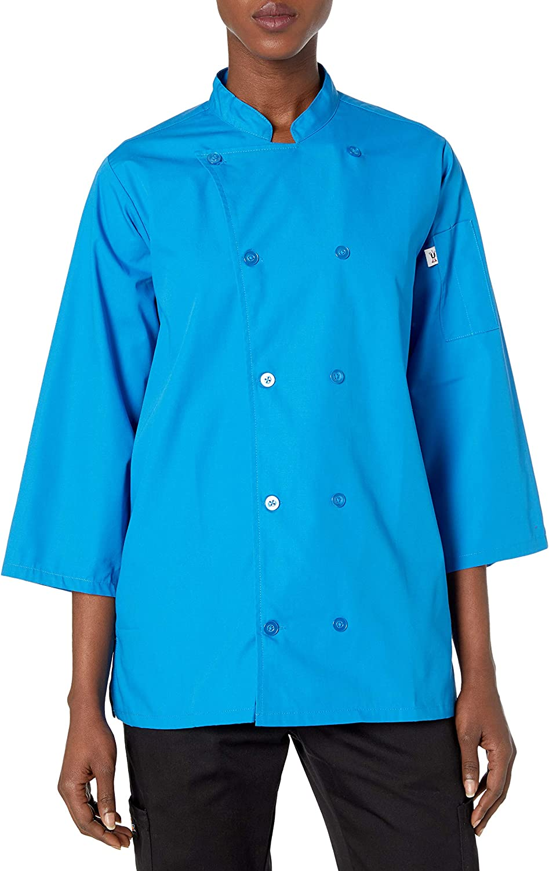Uncommon Threads Epic 3/4 Sleeve Chef Shirt: Clothing
