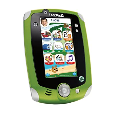 LeapFrog 81450 - Jeu Éducatif - LeapPad 2 Tablette Tactile - Vert