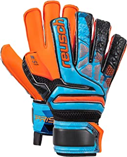 Reusch Soccer Reusch Prisma S1 Fusion Evolution Finger Support Junior LTD  Goalkeeper Glove Orange Blue fa4cf27964