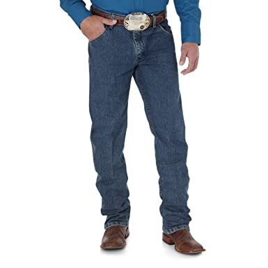 7ecd07ac Wrangler Men's Premium Performance Advanced Comfort Cowboy Cut Reg Jean,  Mid Tint, 29W x