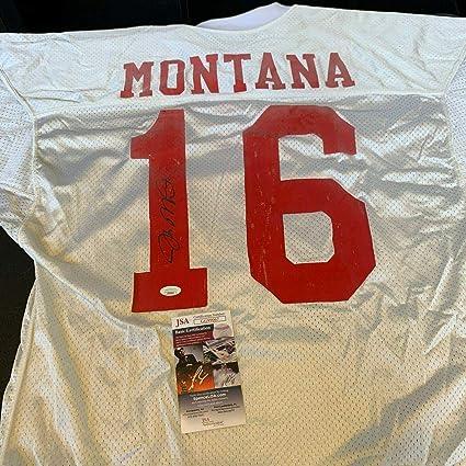 san francisco 49ers montana jersey