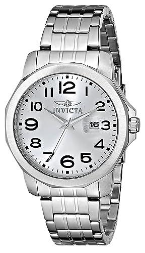 Invicta 5773 - Reloj de Pulsera Hombre, Acero Inoxidable, Color Plata: Amazon.es: Relojes