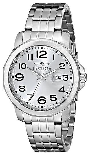 Invicta 5773 - Reloj de Pulsera Hombre, Acero Inoxidable, Color Plata
