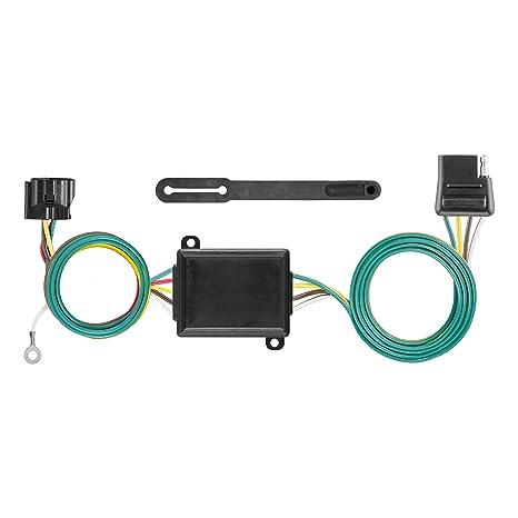 amazon com curt manufacturing 58919 custom towed vehicle rv wiring rh amazon com rv radio wiring harness rv trailer wiring harness