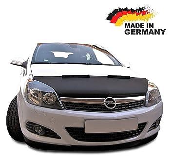 Sujetador de campana capó coche sujetador parte delantera para Opel Astra H, nariz máscara stoneguard pantalla Tuning: Amazon.es: Coche y moto