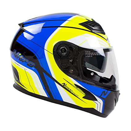 Amazon.es: Nitro N2300 Pioneer - Casco de moto, color negro ...