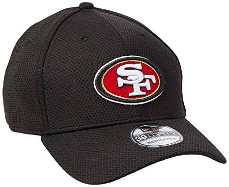 new style c81a2 2c6ab San Francisco 49ers New Era On-Field Sideline Tech 39THIRTY Flex Fit Hat    Cap