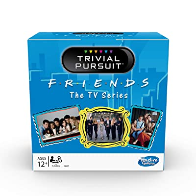 Trivial Pursuit: Friends The TV Series Edition Trivia Party Game; 600 Trivia Questions for Tweens and Teens Ages 12 and Up ( Exclusive): Toys & Games
