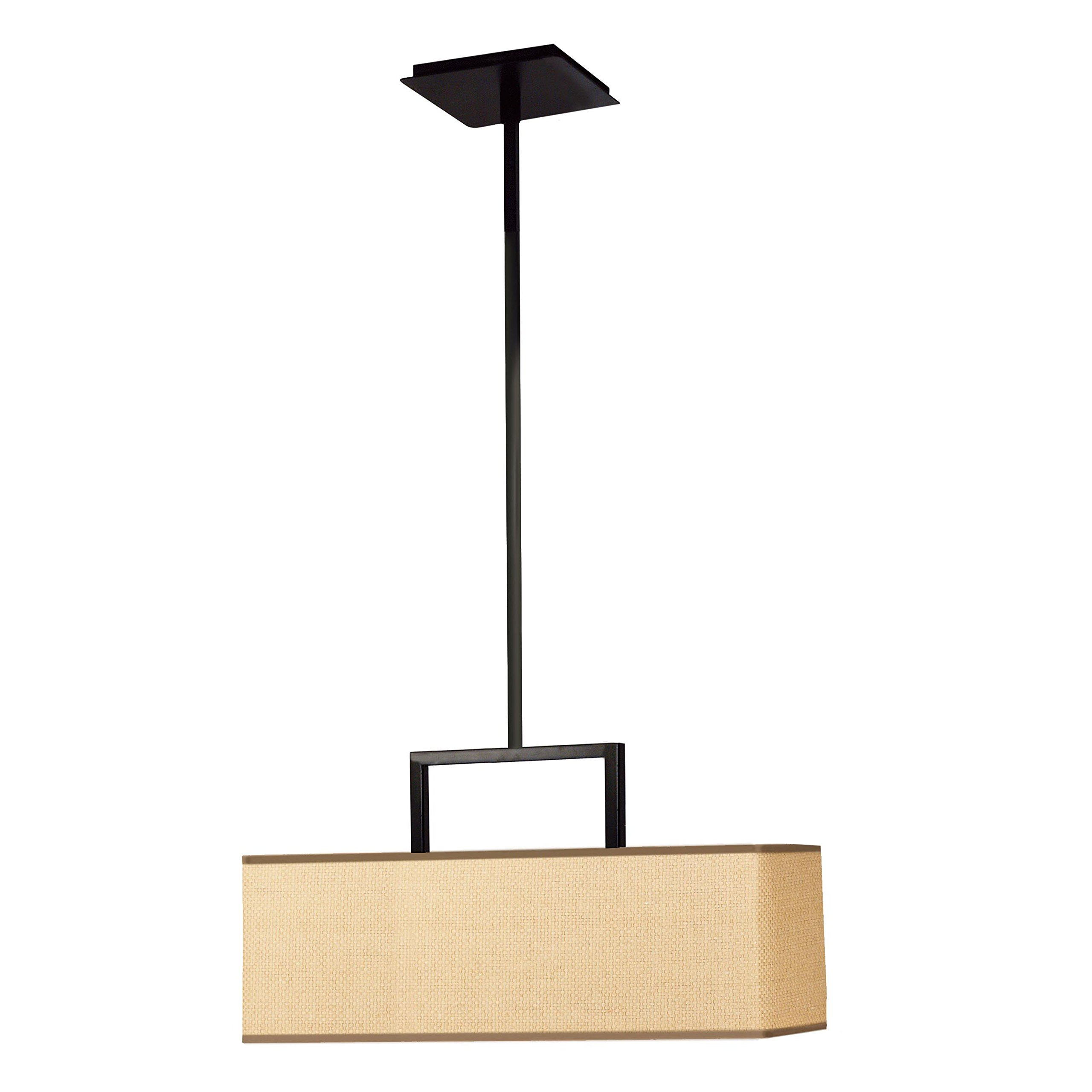 Kenroy Home 93423BRZ Emilio 3-Light Pendant, Bronze Finish by Kenroy Home