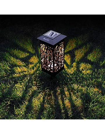 OxyLED Al aire libre Jardín solar luces,Solar Camino de jardín Iluminación al aire libre