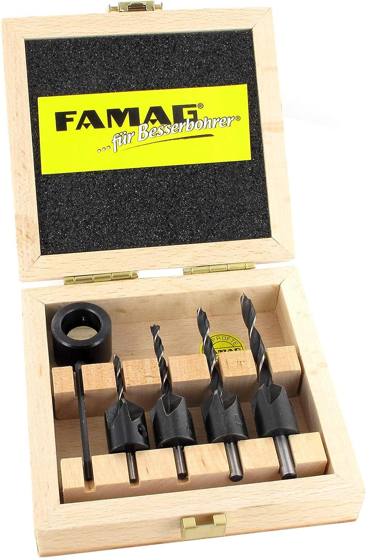 16MM FAMAG Drill Countersink Set-10 Pieces Countersink Diameter