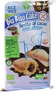 Probios Rice&Rice Riso Cake Al Cacao - Paquete de 12 x 180 gr - Total: