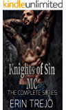 Knights of Sin MC (The complete 6 book series) (English Edition)
