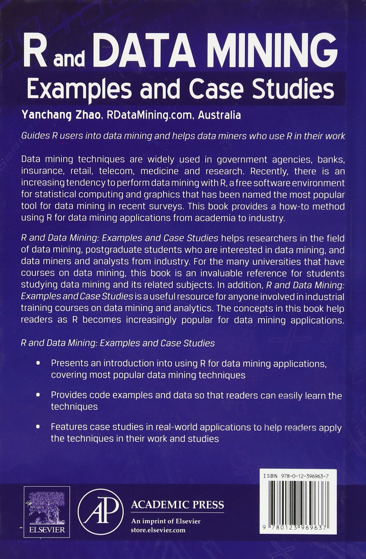 Buy R And Data Mining Examples And Case Studies Book Online At Low