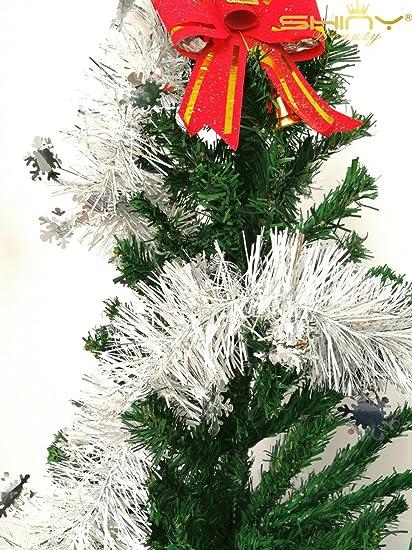 shinybeauty nice quality and versatile tinsel garland for christmas tree decor tg002 - Garland For Christmas Tree