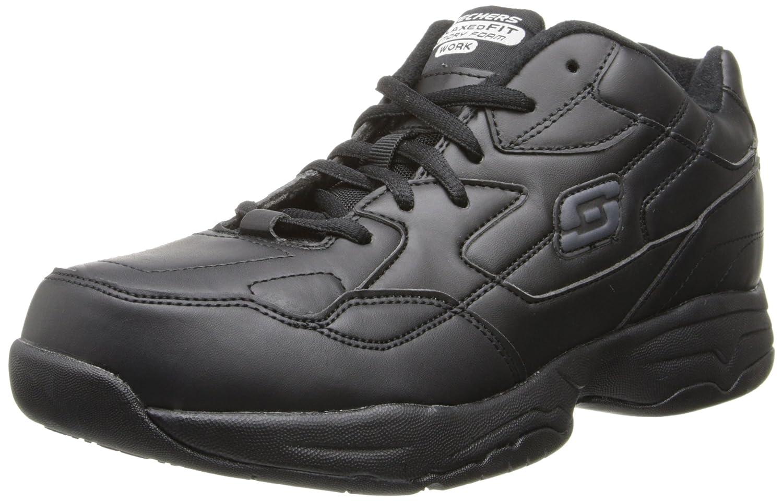 Skechers for Women's Work Albie Walking Shoe B00LD8L0XO 10 XW US|Black